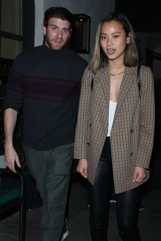 JAMIE CHUNG and Bryan Greenberg at Madeo Restaurant in Beverly Hills 02/26/2020