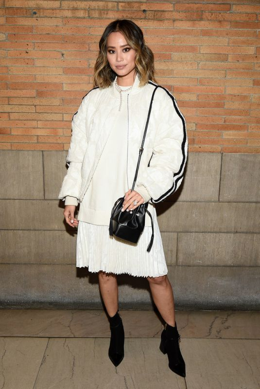 JAMIE CHUNG at Adeam Fall/Winter 2020 Show at New York Fashion Week 02/10/2020