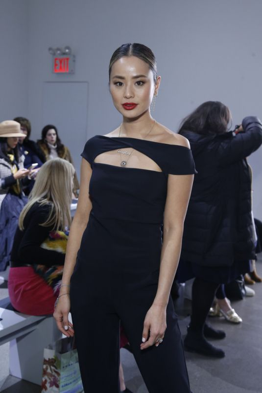 JAMIE CHUNG at Chiara Boni Fashion Show at NYFW in New York 02/08/2020
