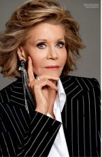 JANE FONDA in Elle Magazine, Canada March 2020