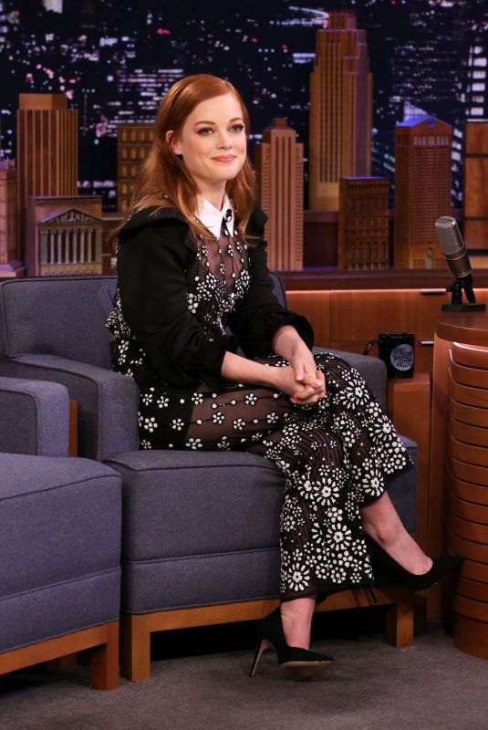 JANE LEVY at Tonight Show Starring Jimmy Fallon in New York 02/10/2020