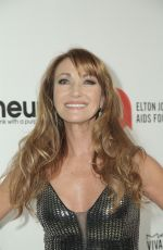 JANE SEYMOUR at Elton John Aids Foundation Oscar Viewing Party in West Hollywood 02/09/2020