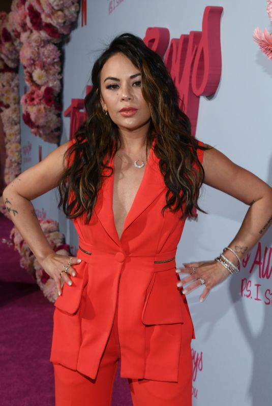 JANEL PARRISH at To All the Boys: P.S. I Still Love You Premiere in Hollywood 02/03/2020