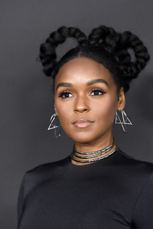 JANELLE MONAE at 51st Naacp Image Awards in Pasadena 02/22/2020