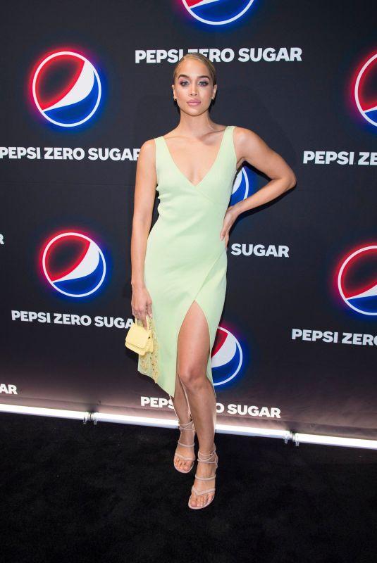 JASMINE SANDERS at Pepsi Zero Sugar Super Bowl LIV Party in Miami 01/31/2020