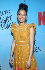 JAZ SINCLAIR at All the Bright Places Premiere in Hollywood 02/24/2020