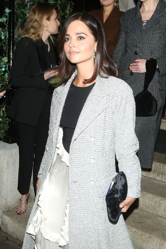 JENNA LOUISE COLEMAN at Bafta Vogue x Tiffany Fashion and Film After-party in London 02/02/2020
