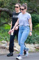 JENNIFER GARNER Out Hiking in Los Angeles 02/28/2020