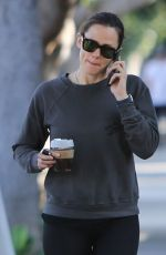 JENNIFER GARNER Out in Brentwood 02/28/2020