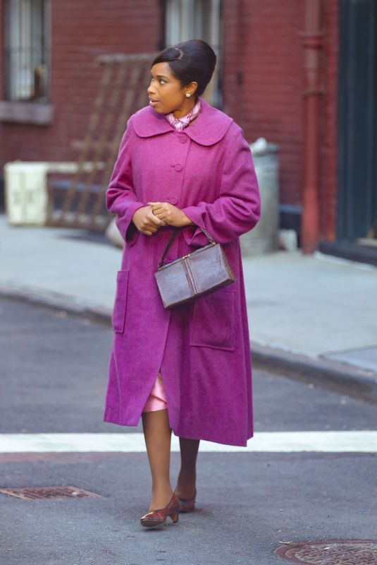 JENNIFER HUDSON as Aretha Franklin on the Set of Rrespect 02/14/2020