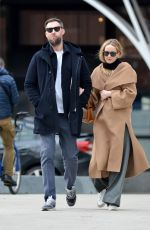 JENNIFER LAWRENCE and Cooke Maroney Out in New York 02/04/2020