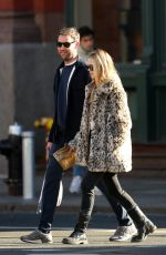 JENNIFER LAWRENCE and Cooke Maroney Out in New York 02/25/2020