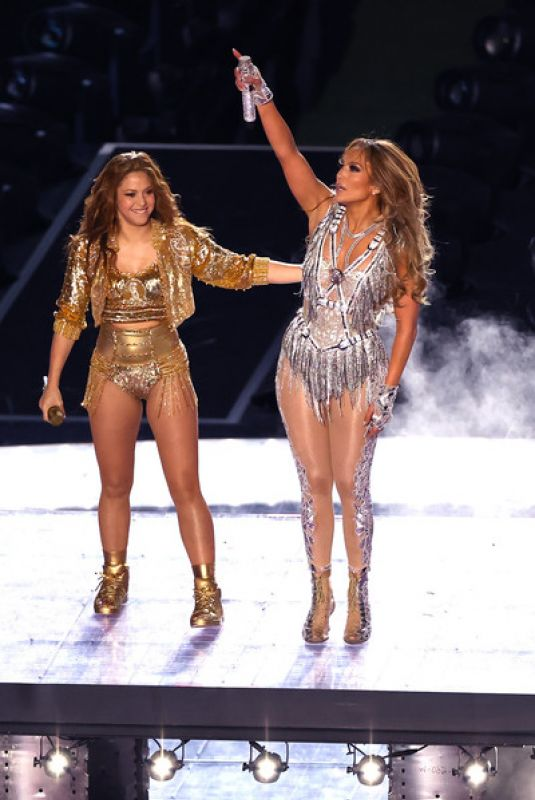 JENNIFER LOPEZ and SHAKIRA Performs at Super Bowl LIV Halftime Show in Miami 02/02/2020