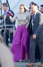 JENNIFER LOPEZ Arrives at Film Independent Spirit Awards in Santa Monica 02/08/2020