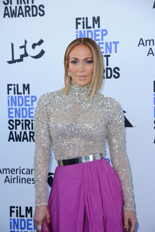JENNIFER LOPEZ at 2020 Film Independent Spirit Awards in Santa Monica 02/08/2020