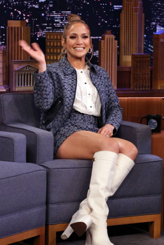 JENNIFER LOPEZ at Tonight Show Starring Jimmy Fallon 02/07/2020