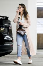 JESSICA ALBA Out Shopping in Beverly Hills 02/01/2020