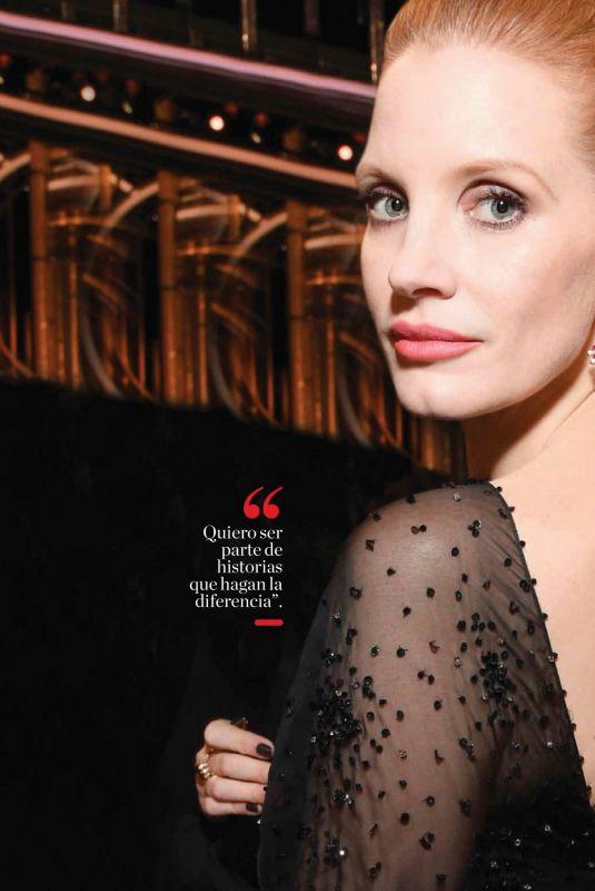 JESSICA CHASTAIN in Vanidades Magazine, Mexico February 2020