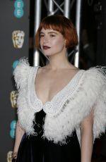 JESSIE BUCKLEY at EE British Academy Film Awards 2020 in London 02/01/2020