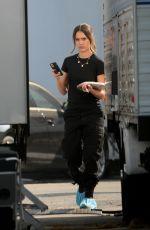 JHESSICA ALBA on the Set of L.A