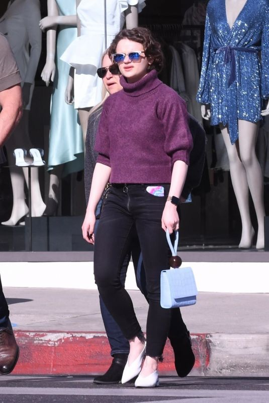JOEY KING Out Shopping in Beverly Hills 02/11/2020