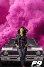 JORDANA BREWSTER, MICHELLE RODRIGUEZ and NATHALIE EMMANUEL - Fast & Furious 9 Posters and Traier