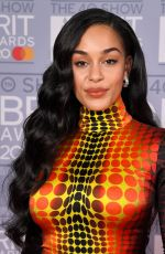 JORJA SMITH at Brit Awards 2020 in London 02/18/2020