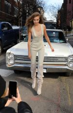 JOSEPHINE SKRIVER at a Photoshoot in New York 02/12/2020