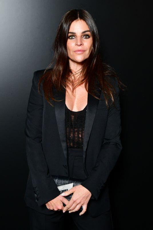 JULIA RESTOIN at Saint Laurent Fashion Show in Paris 02/25/2020