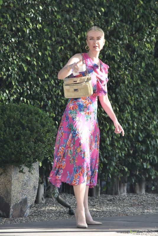JULIANNE HOUGH Arrives at Jesse Tyler Ferguson's Baby Shower 02/15/2020