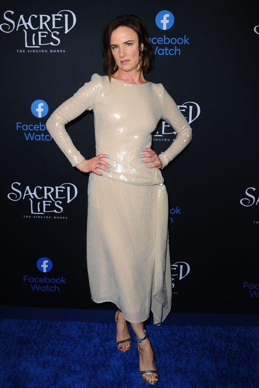 JULIETTE LEWIS at Sacred Lies: The Singing Bones Premiere in Los Angeles 02/19/2020
