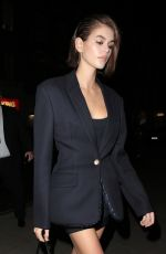 KAIA GERBER at Love Magazine Party in London 02/17/2020