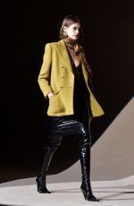 KAIA GERBER at Saint Laurent Runway Show at PFW in Paris 02/25/2020