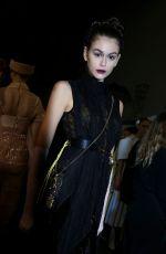 KAIA GERBER on the Backstage of Fendi Fashion Show in Milan 02/20/2020