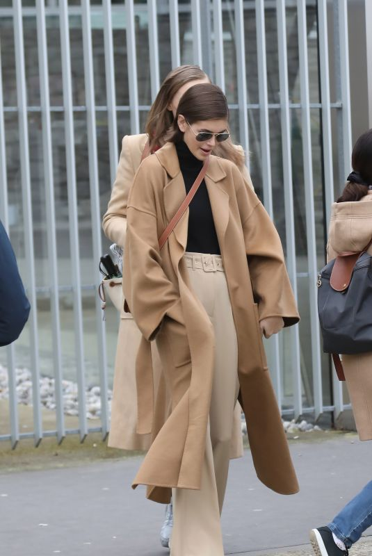 KAIA GERBER Out and About in Paris 02/28/2020