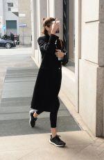 KAIA GERBER Out in Milan 02/19/2020