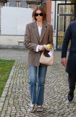 KAIA GERBER Out in Milan 02/20/2020