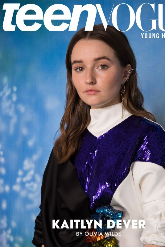 KAITLYN DEVER for Teen Vogue Young Hollywood Class of 2020