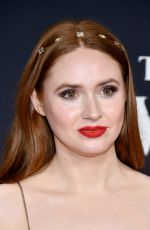 KAREN GILLAN at The Call of the Wild Premiere in Los Angeles 02/13/2020