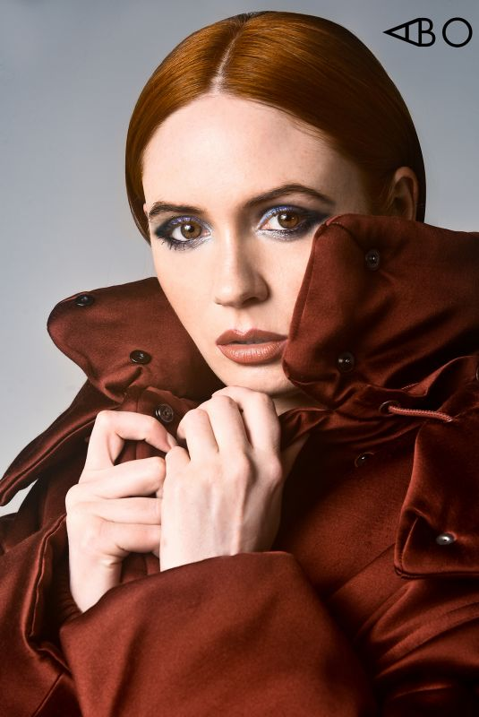 KAREN GILLAN in A Book Of, January 2020