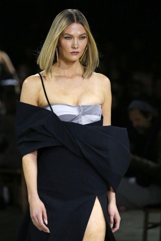 KARLIE KLOSS at Off-white Runway Show at Paris Fashion Week 02/27/2020