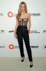 KATE BOCK at Elton John Aids Foundation Oscar Viewing Party in West Hollywood 02/09/2020