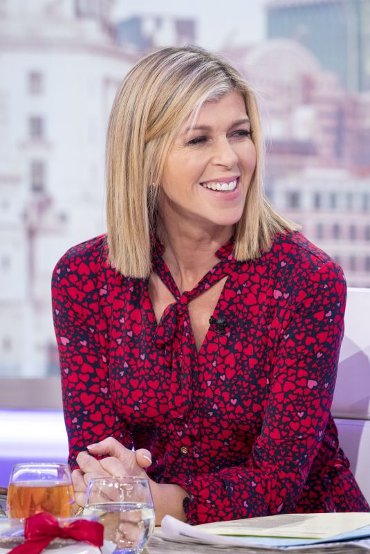 KATE GARRAWAY at Good Morning Britain Show in London 02/14/2020