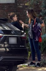 KATE MARA Out and About in Los Angeles 02/26/2020