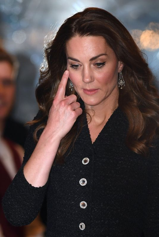 KATE MIDDLETON at Dear Evan Hansen  Charity Performance at Noel Coward Theatre in London 02/25/2020