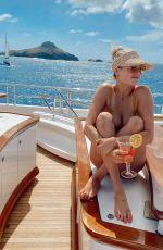 KATE UPTON in Bikini on a Boat - Instagram Photos 02/26/2020
