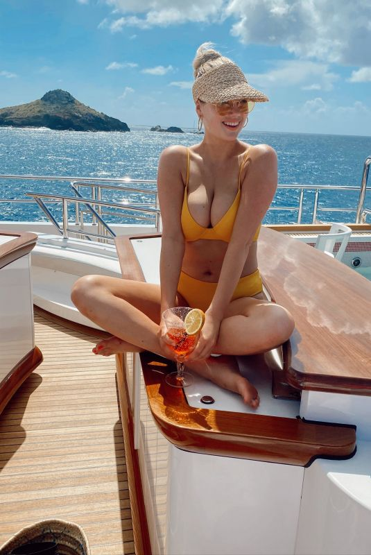 KATE UPTON in Bikini on a Boat – Instagram Photos 02/26/2020