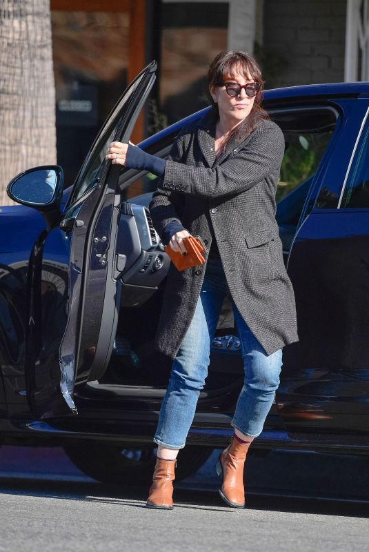 KATEY SAGAL Out and About in Los Angeles 02/13/2020