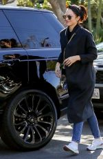 KATHARINE MCPHEE Returns for Her Car in West Hollywood 02/14/2020