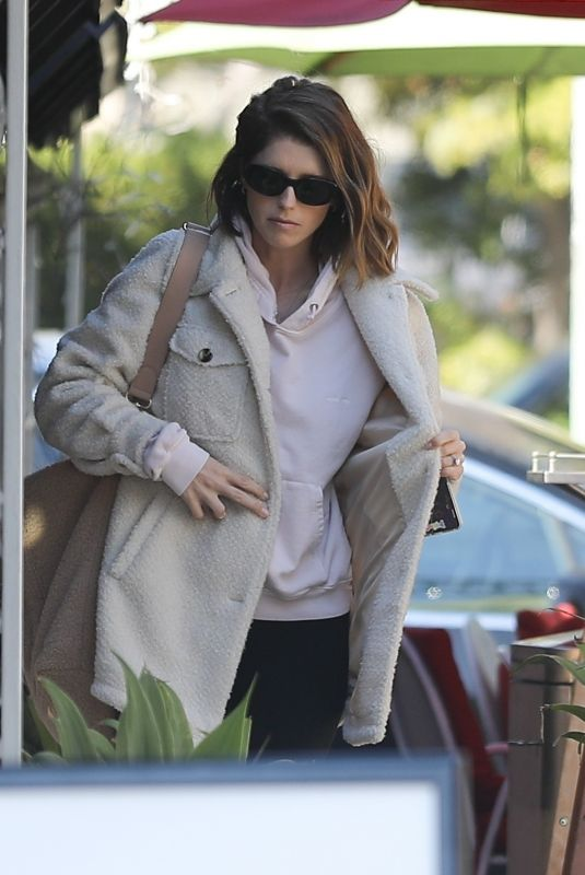 KATHERINE SCHWARZENEGGER Out for Lunch in New York 02/07/2020